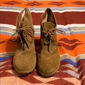 Heeled Booties, Size 9
